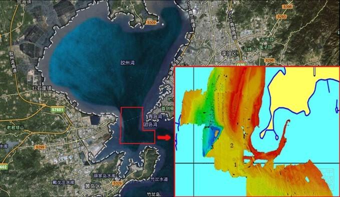 2012年青岛胶州湾海域水下考古调查取得新进展